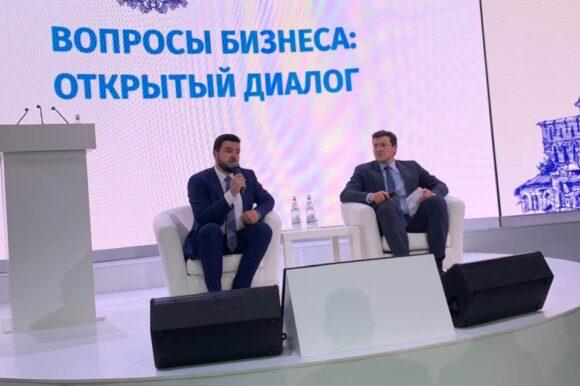 Глеб Никитин встретится с нижегородскими предпринимателями