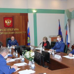 Прокуратурой Нижегородской области проведен прием предпринимателей совместно с генеральным директором «Платформы» Элиной Сидоренко